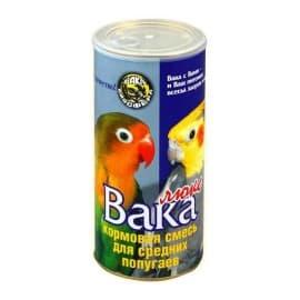 Вака Люкс кормовая смесь для средних попугаев 0,900 гр