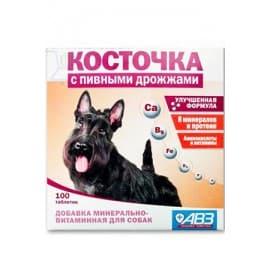АВЗ Косточка с пивными дрожжами 100 табл