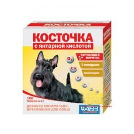 АВЗ Косточка с янтарной кислотой 100 табл