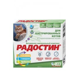 АВЗ Радостин для кастрированных котов 90 табл
