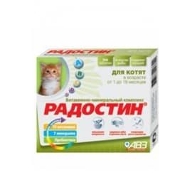АВЗ Радостин для котят в возрасте от 1 до 6 месяцев 90 табл