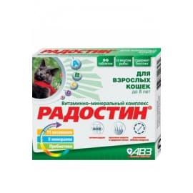 АВЗ Радостин для кошек до 8 лет 90 табл