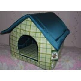 Будка большая для собак и для кошек ГЮ-ВАС №2 размер 44 х 40 х 40 см. бязь