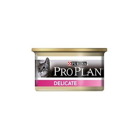 Pro Plan Nutri Savour для кошек с чувствительной кожей и пищеварением с индейкой 0, 085 кг