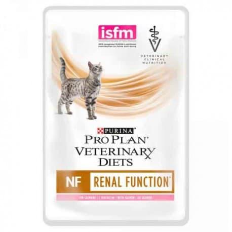 PPVD NF. Корм, конс. полнорац. диетич. для взр. кошек при патологии почек, с лососем 10x85 г
