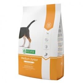 Nature's Protection Junior Medium - сухой корм для молодых собак средних пород 7,5 кг.