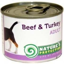 Nature's Protection Dog Adult Chicken & Turkey - консервы для собак с курицей и индейкой 200 г