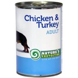 Nature's Protection Dog Adult Chicken & Turkey - консервы для собак с курицей и индейкой 400 г.