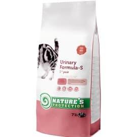 Nature's Protection Urinary - сухой корм для взрослых кошек от образования струвитных камней в мочевом пузыре 400 г