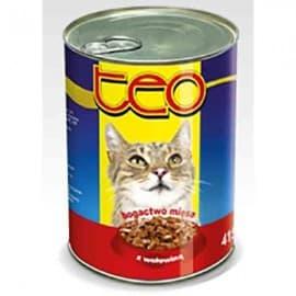 ТЕО консерв.корм для кошек говядина 415 гр