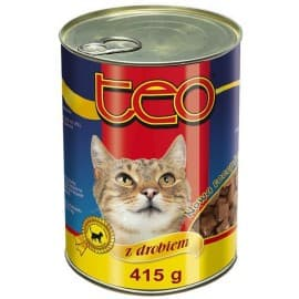 ТЕО консерв. корм для кошек курица 415 гр