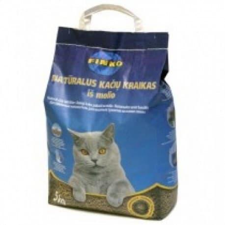 FINKO, 5kg - комкующийся наполнитель для кошачьего туалета (на основе бентон.глины). Страна производитель - Чехия.