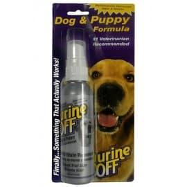 Urine OFF Dog 118мл средство для уничтожения пятен и запахов собачей мочи