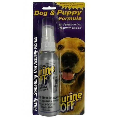 Urine OFF Dog 500мл средство для уничтожения пятен и запахов собачей мочи