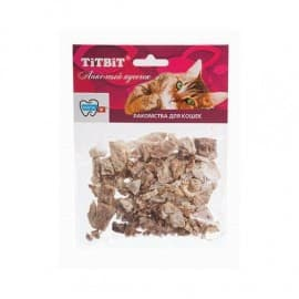 """Легкое говяжье для кошек - мягкая упаковка """"TiTBiT"""""""