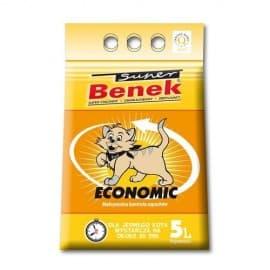 S.Benek комкующийся 25л эконом. Комкующийся. Смешаны мелкие и крупный гранулы.