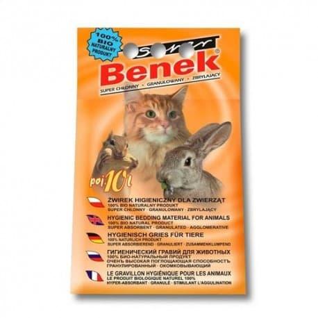 S.Benek комкующийся 25л универсальный. Подходит для всех домашних питомцев