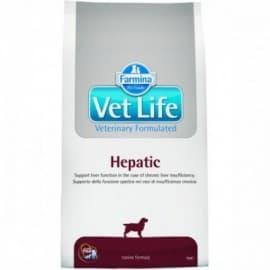 Vet Life Dog Hepatic / Диетическое питание для собак при хронической печеночной недостаточности 2к