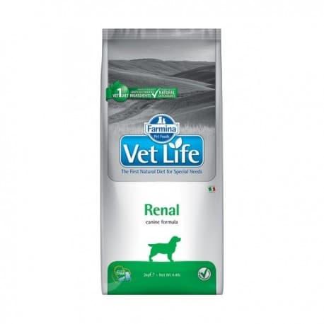 Vet Life Dog Renal / Диетическое питание для собак при заболеваниях почек 2 кг