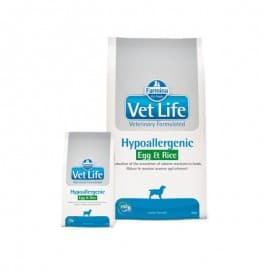 Vet Life Dog Hypoallergenic Egg&Rice / Гипоаллергенное диетическое питание для собак (яйцо/рис) 2 кг