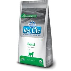 Диетическое питание для кошек при заболеваниях почек / VET LIFE CAT RENA 0,4 кг