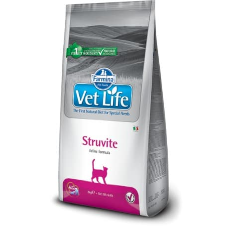 Диетическое питание для кошек при уролитиазе и цистите / VET LIFE CAT STRUVITE 0,4 кг