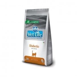 Сухой корм для кошек при сахарном диабете / VET LIFE CAT DIABETIC 0,4 кг