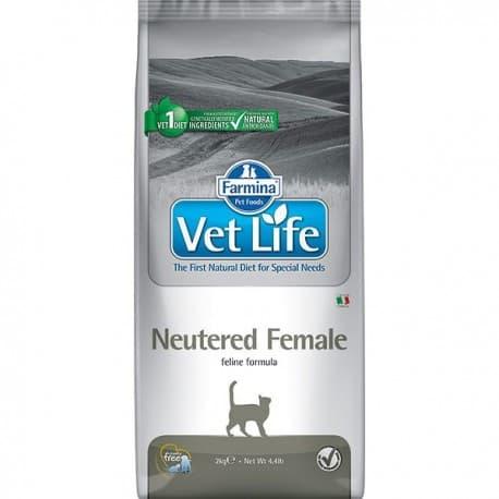 Сухой корм для стерилизованных кошек / VET LIFE CAT NEUTERED FEMALE 0,4 кг