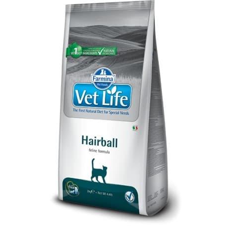 Сухой корм для кошек от шерстяных комочков / VET LIFE CAT HAIRBALL 0,4 кг
