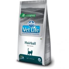 Сухой корм для кошек от шерстяных комочков / VET LIFE CAT HAIRBALL 2 кг