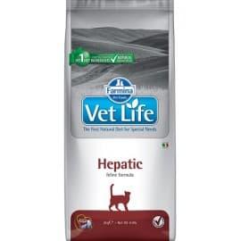 Сухой корм для кошек при печеночной недостаточности / VET LIFE CAT HEPHATIC 0,4кг