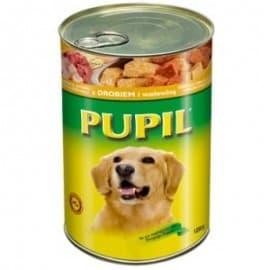 """Консервы """"PUPIL"""" для собак с говядиной и курицей 1250гр."""