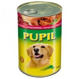 """Консервы """"PUPIL"""" для собак с говядиной и овощами 1250гр."""