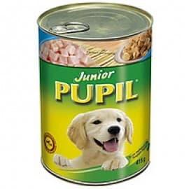 """Консервы """"PUPIL"""" для собак """"Юниор"""" для щенков и молодых собак"""