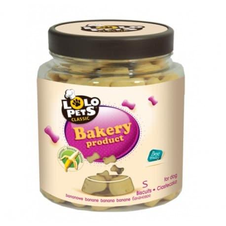 Печенье для собак - косточки банановые, размер S, в банках