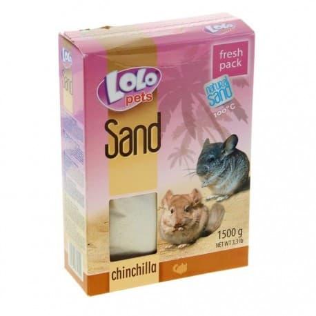 Песок для шиншилл