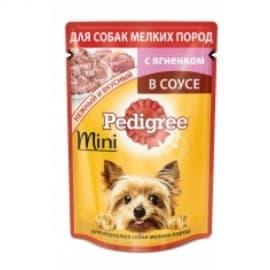 Влажный корм для собак Pedigree Для мелких пород ягненок НОВИНКА (85гр.)