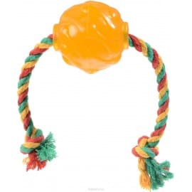 Doglike Мяч Космос с канатом р.62мм