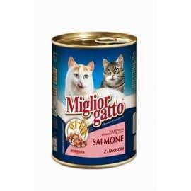Miglior Chunks Salmon (Кусочки в соусе с Лососем), 405 гр