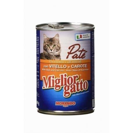 Miglior Patè Veal, Carrots (Паштет Телятина, Морковь), 400 гр