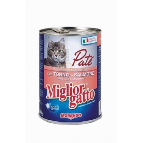 Miglior Patè Tuna, Salmon (Паштет Лосось, Тунец), 400 гр