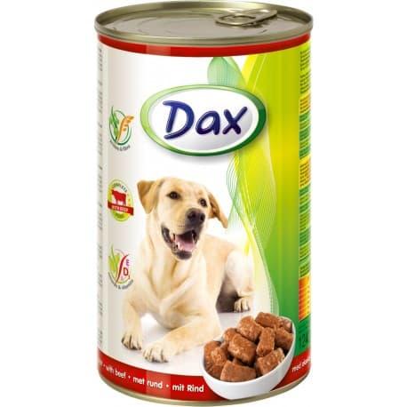 DAX Консервированный корм для Собак кусочки с дичью, 1240 гр