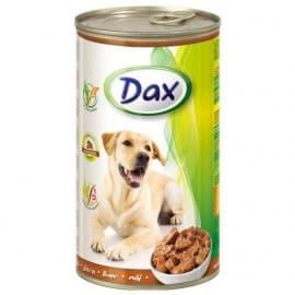DAX Консервированный корм для Собак кусочки с печенью, 1240 гр