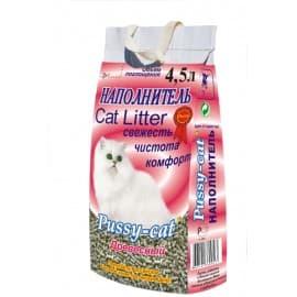 Наполнители для кошек Pussy Cat Туф древесный 4,5 л.