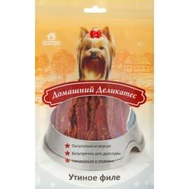 Домашний деликатес Утиное филе, 0,085 кг