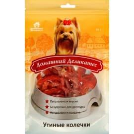 Домашний деликатес Утиные колечки, 0,085 кг