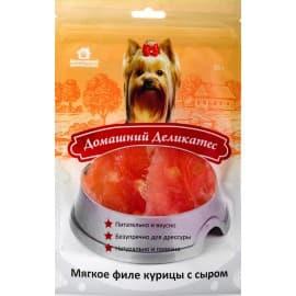 Домашний деликатес Мягкое филе курицы с сыром, 0,085 кг