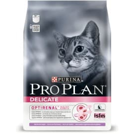 Pro Plan корм сухой с индейкой для взрослых кошек с чувствительным пищеварением (0,4 кг.)