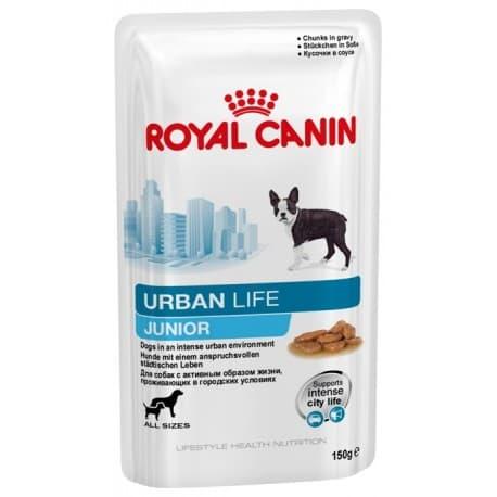 URBAN JUNIOR - влажный корм для щенков до 10 месяцев 0,15 кг