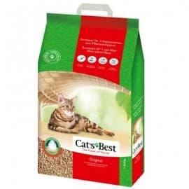 CAT'S BEST Original 20 L (Древесный комкующийся, гранулы , суперпоглощение влаги) - для кошек 20 л